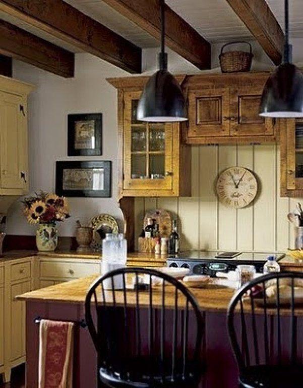 69 best Primitive Kitchen images on Pinterest | Home, Kitchen and ...