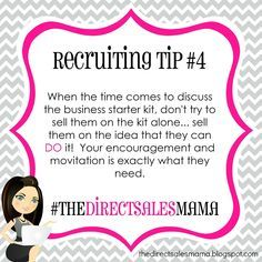 The Direct Sales Mama: Direct Sales Recruiting Tip #4                                                                                                                                                     More