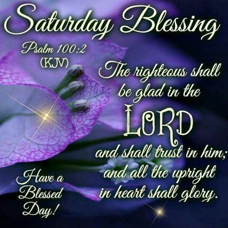Image result for saturday blessings/bible verses