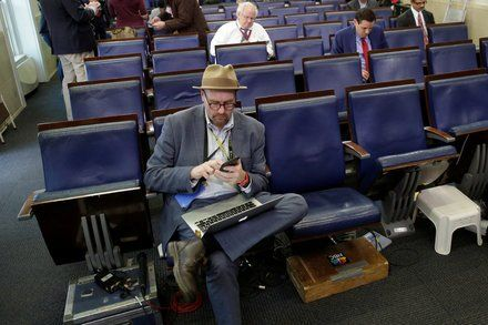 Glenn Thrush New York Times Reporter Accused of Sexual Misbehavior
