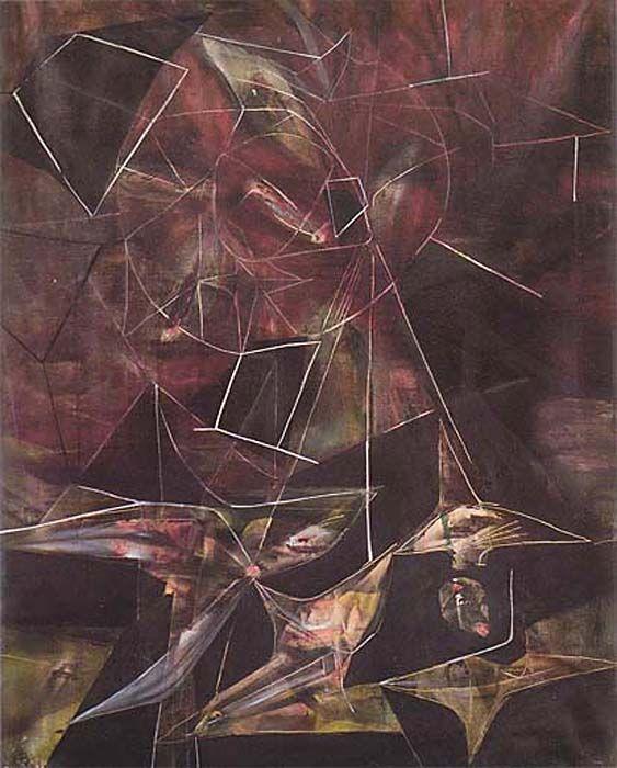 "Matta - ""Galaxies (Mysticism of Infinity)"" 1942"
