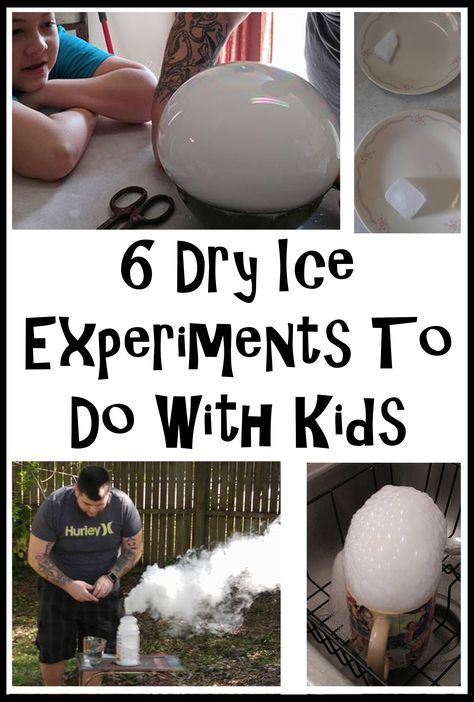 6 Dry Ice Experiments To Do With Kids. Dry ice bombs, dry ice bubbles, dry ice smoke, and learning about dry ice. These are super fun!