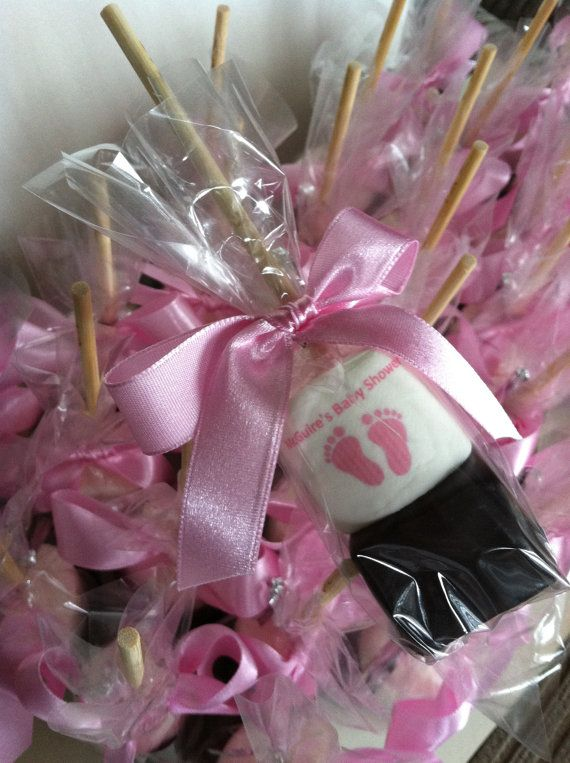 Personalized hot cocoa stick its a girl boy hot by FeteSetter, $27.00, gender reveal baby shower idea