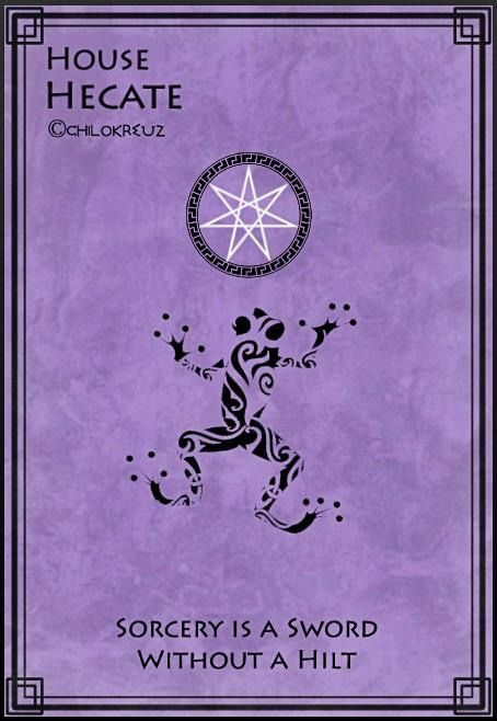 Couldn't find a Hecate one Cabin 20: Hecate Goddess of Magic and Crossroads