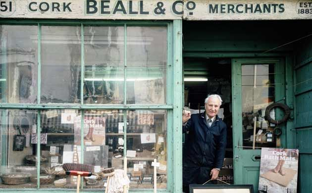 Brighton, 1980: Beall & Co opened in 1883 and was the country's last cork shop. It closed after reaching its centenary, and in its place now stands a materials store.
