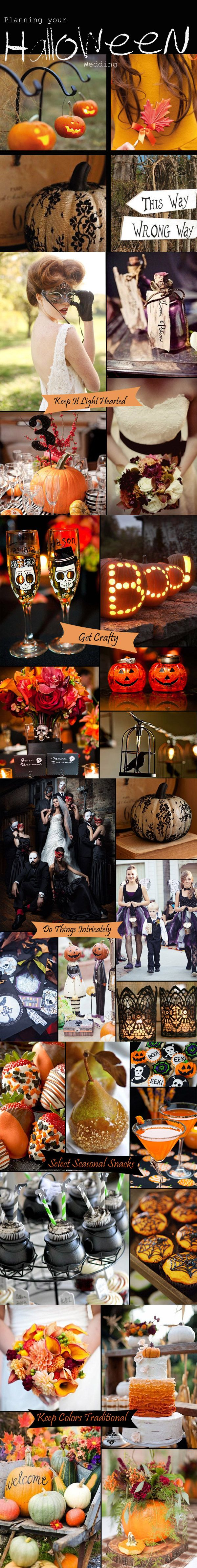 Halloween wedding ideas from White Mischief Bridal. See more on our blog.