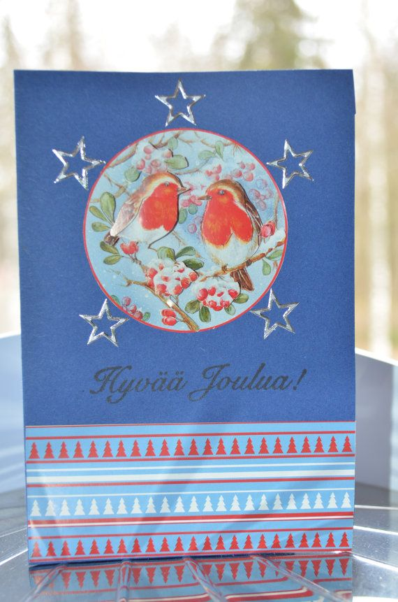 3D Christmas card / Joulukortti