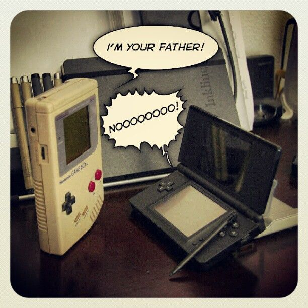 I miss my game boy. So less complicated