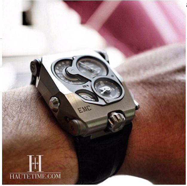 EMC, URWERK by Haute Time