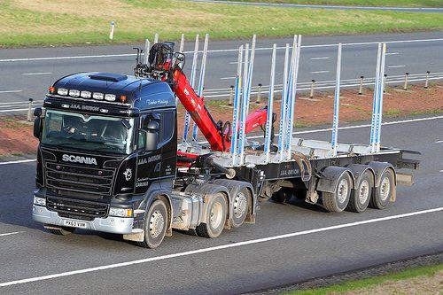 Scania R440 streamline PX63 VVM - J&A Dayson   A74M near Loc…   Flickr