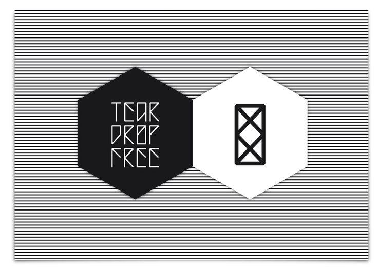Teardrop - Free font on the Behance Network