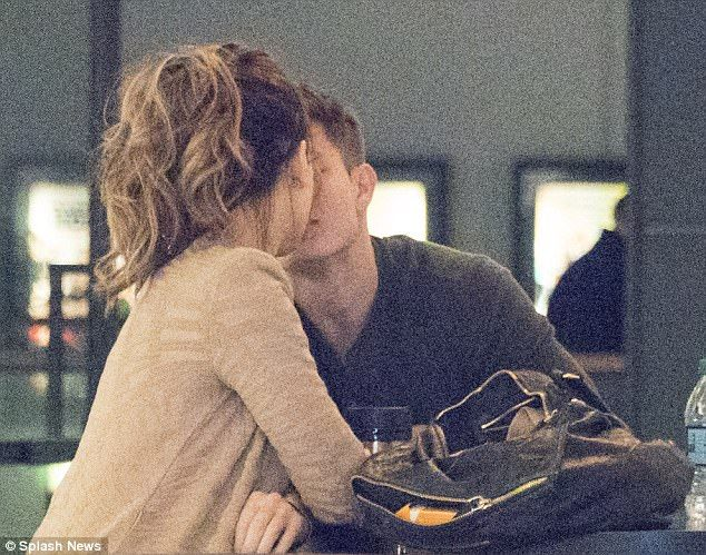 Back on! Kate Beckinsale was spotted kissing her on/off toyboy Matt Rife during their hot date inside AMC Century City 15 at the Westfield shopping mall on Friday night