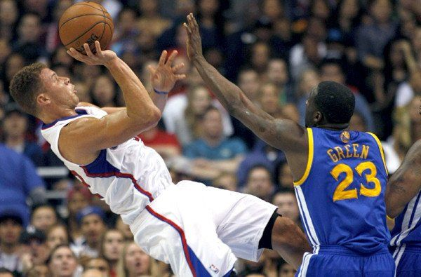 Clippers' Blake Griffin is confronted by Jermaine O'Neal after game - LOS ANGELES TIMES #Clippers, #JermaineO'Neal