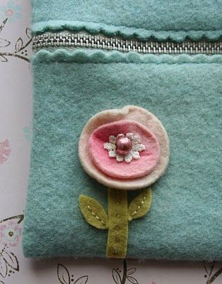 ❥ zippered pouch tutorial
