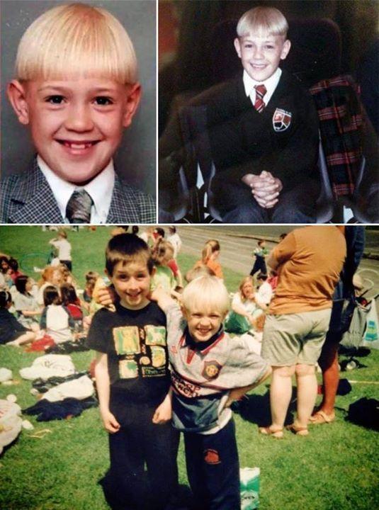 A young Conor McGregor.