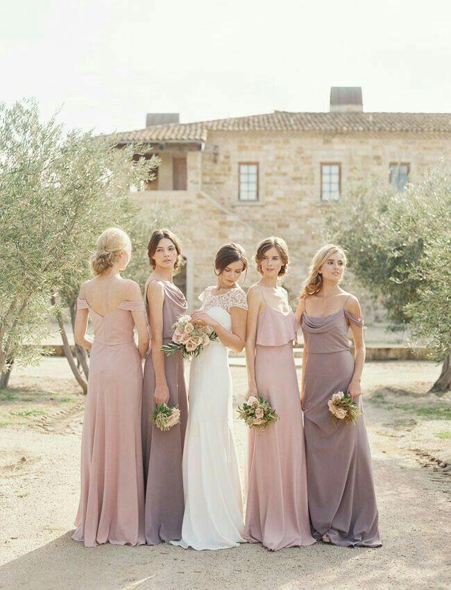 36 besten Bridesmaids Dressess Bilder auf Pinterest | Brautjungfern ...