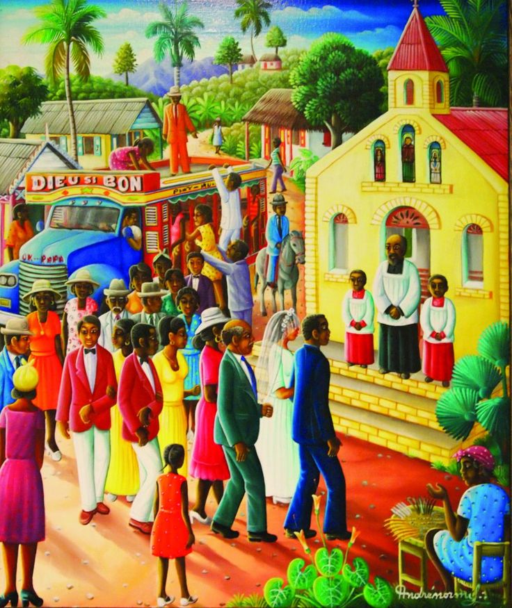 Noon Talk: Haitian Art from the Rodale Family Collection, with Chief Curator Diane P. Fischer | Allentown Art Museum