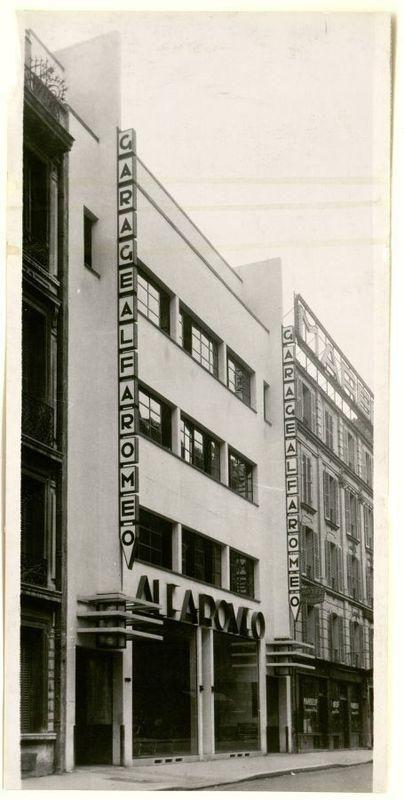 [Garage de la rue Marbeuf] | Centre de documentation des musées - Les Arts Décoratifs