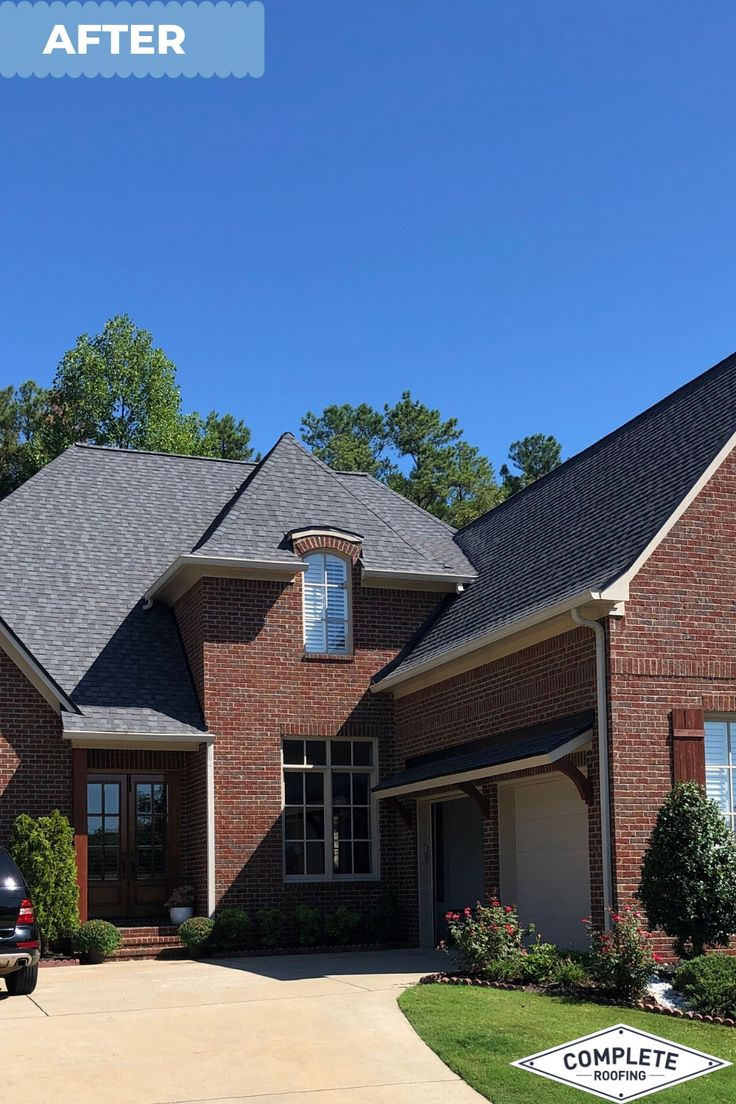 Check out this lovely looking roof in Alabama. Shingles