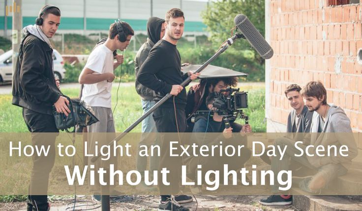 Lighting for day exteriors can be difficult. Fortunately there are budget-friendly approaches to creating a cinematic look in tough scenarios.