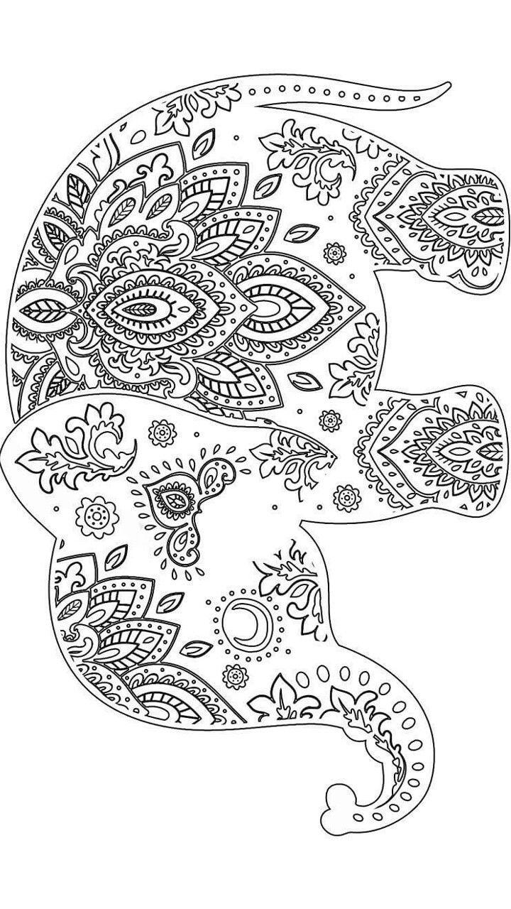 Best 25 Elephant pattern ideas