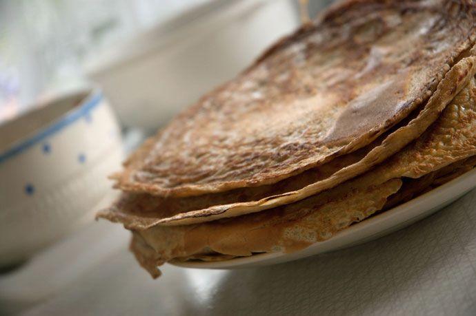 Pandekager - opskrift på lækre hjemmelavede pandekager
