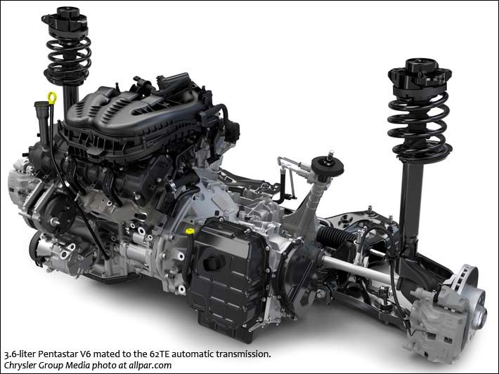 V6 with 62TE