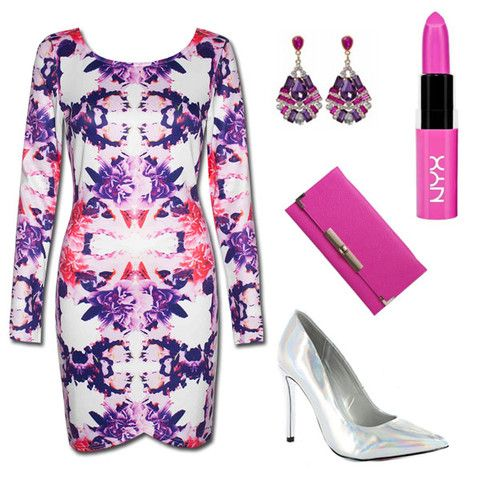 Party Style Guide - Mirror Print Fabness! Dress is only $49.95 + free express delivery Australia wide...