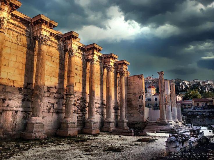 Library by Roman Emperor Hadrian – PHOTOinPHOTO