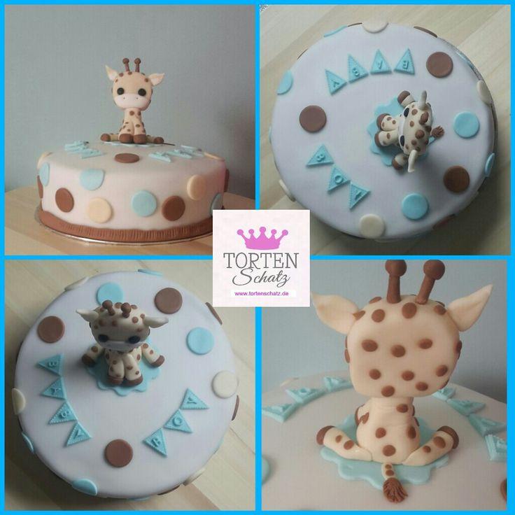 Baby Giraffe Cake by www.tortenschatz.de