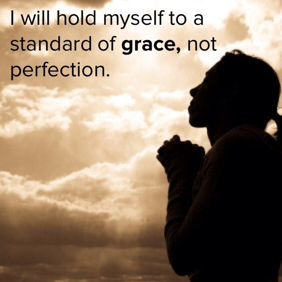 Choosing to Live by Grace, not Perfection