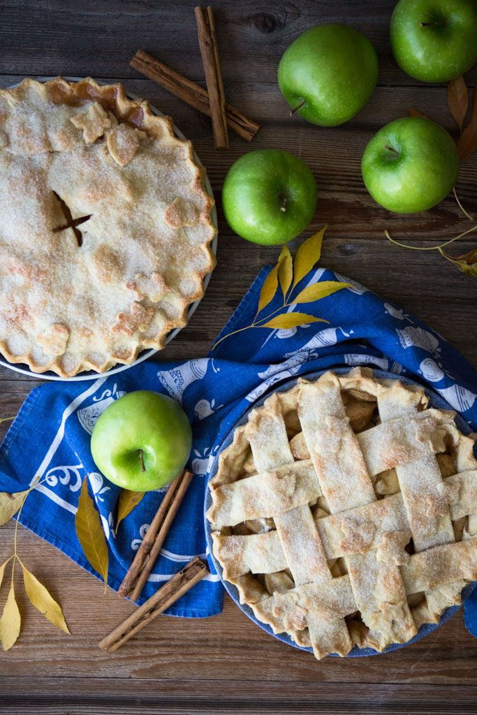 My Favorite Apple Pie Recipe - A tender, flaky crust and a perfect balance of sweet and tart apple filling make this my favorite apple pie.