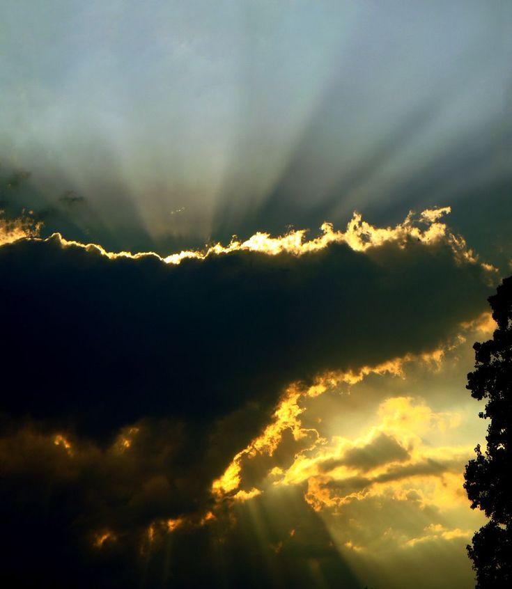 Sun and Cloud -stitch by Gianni Del Bufalo CC BY-NC-SA DSC03561-65 stitch #sun #cloud #raggi #sole #nuvole #sky #cielo