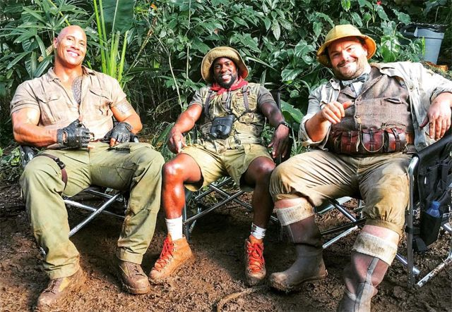 New Jumanji Set Photo and Video http://filmanons.besaba.com/new-jumanji-set-photo-and-video/  Check out new a new Jumanji set photo and video As production continues onSony Pictures'new Jumanji movie, the cast is back with morebehind-the-scenes social media posts. In the first,Dwayne Johnsonwaxes on about what he and co-starsKevin Hartand Jack Black do when the cameras aren't rolling.In the second, Karen Gillanreveals that being an actress on the […]