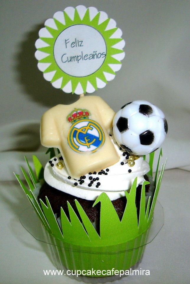 Cupcake Real Madrid