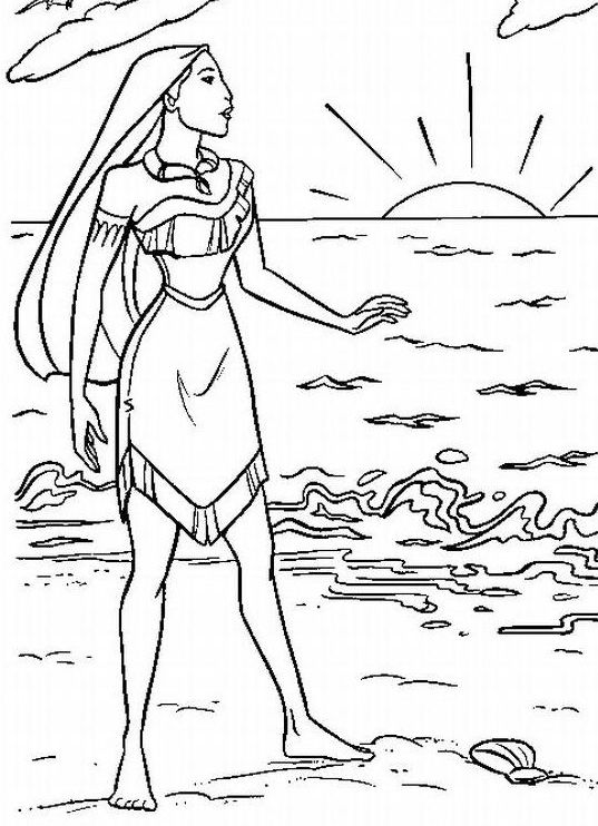 coloring pages sunrise - photo#31