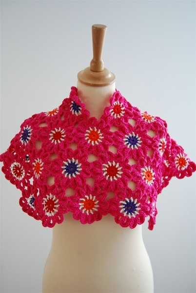 flower poncho