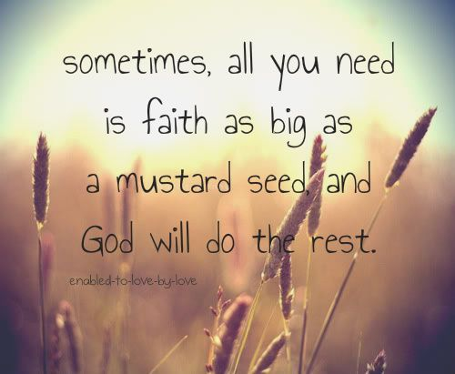 : God Will, The Lord, Students Life, Remember This, God Is, Mr. Big, Mustard Seeds, Have Faith, True Stories