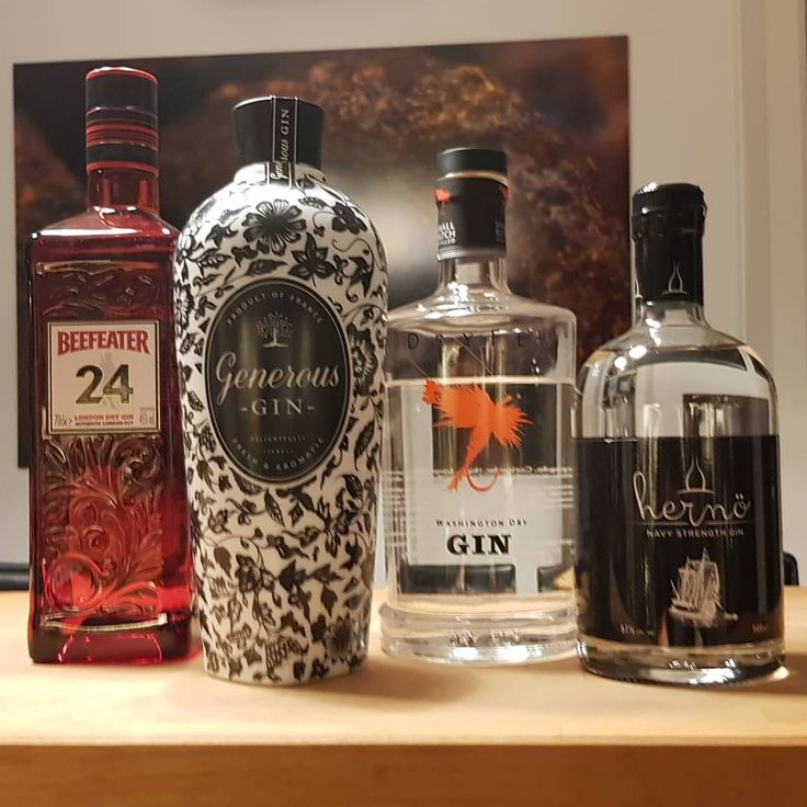 Four new #gins for my collection.