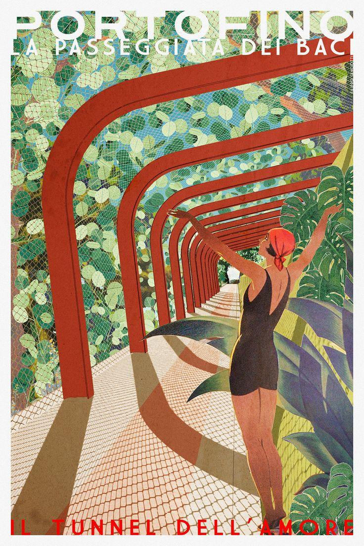 filippo fanciotti  il tunnel dell'amore  la passeggiata dei baci filippofanciotti.com