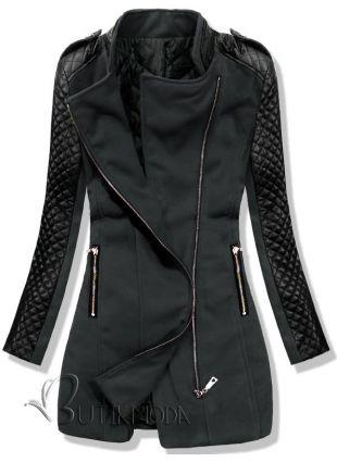 Mantel grafit 12019 - Damenbekleidung