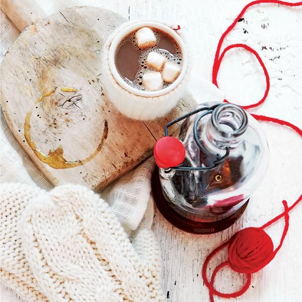 Maple Hot Chocolate | Winter fun | Pinterest
