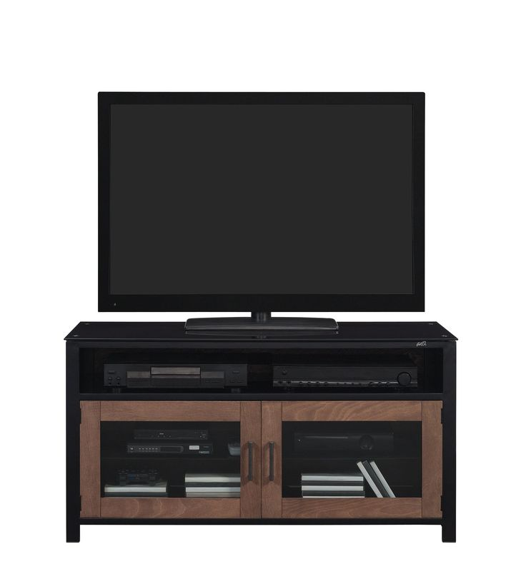 Bell'O 46 inch TV Stand for TVs up to 50 inch, Cocoa