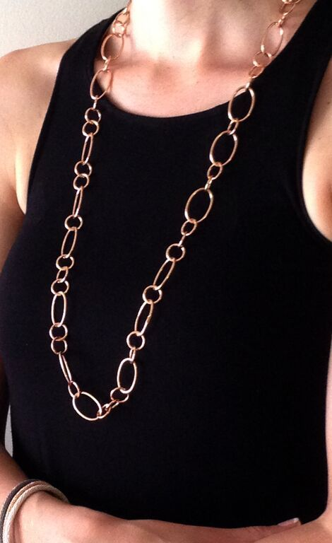 Rose Gold Sultan necklace