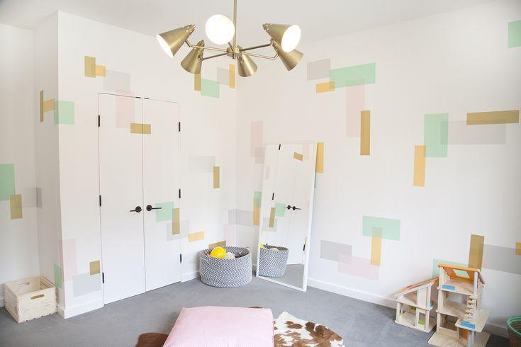 Clean and Modern Playroom