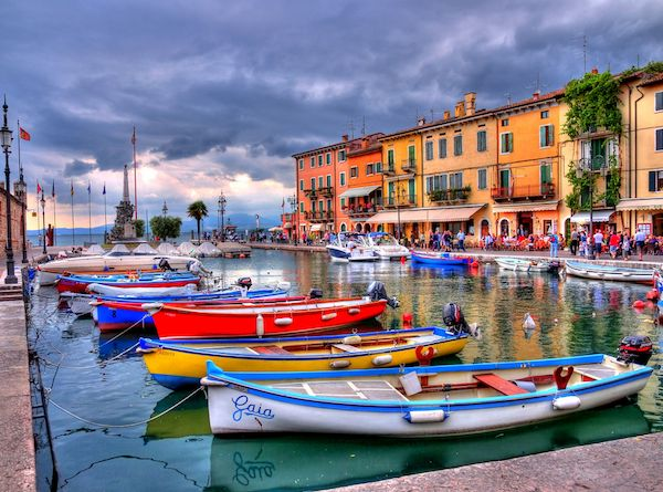 Lago di Garda – Lazise Harbour