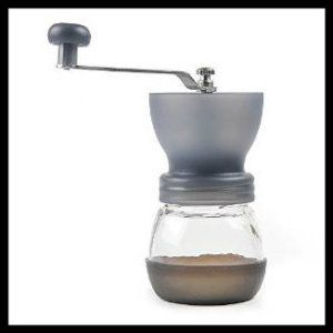 Ceramic Coffee Grinder: Lagute Handheld and Portable Manual Coffee Mill Grinder wih Ceramic Burr (Coffee) Small, light-weighted and portable, perfect for both travel and home use. Quiet and Easy to Clean and Easily Adjustable Grind Sizes. http://theceramicchefknives.com/ceramic-coffee-grinder/