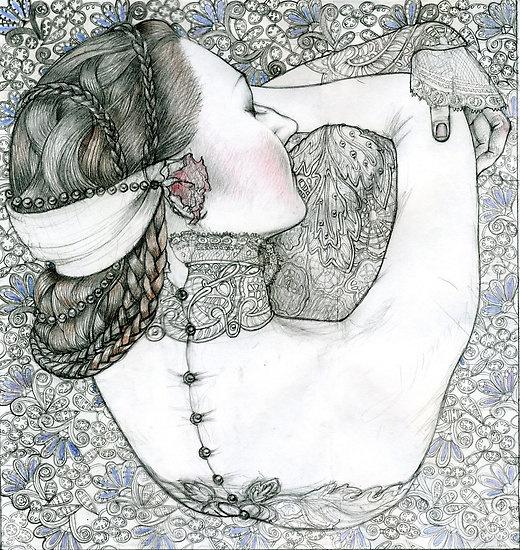 November | Masha Kurbatova #illustration