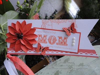 Stampin' Up!  Blossom Petals Punch Art  Stampin' & Scrappin'   Stasia Sloma