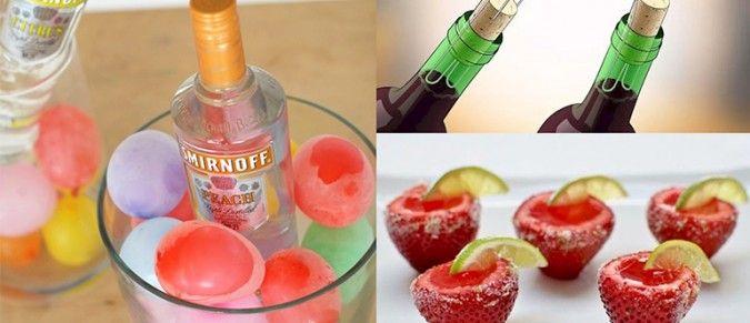 10 genialnych alkotrików, dzięki którym twoje letnie imprezy będą totalnie odjechane!